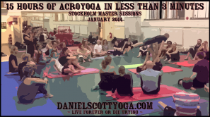 15 hours of Acroyoga in less then 3 minutes