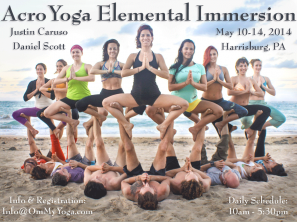 AcroYoga Elemental Immersion with Daniel Scott & Justin Caruso, Harrisburg 2014