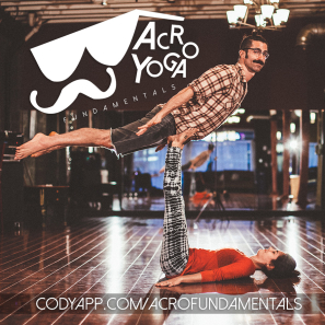 CodyApp presents AcroYoga Fundamentals with Daniel Scott