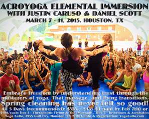 Houston Elemental AcroYoga Immersion